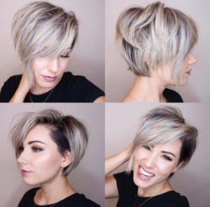 Стрижки на короткие волосы 2020