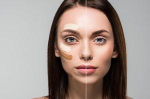 Круги под глазами: техника маскировки
