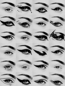 Как нарисовать стрелки для разных типов глаз: советы и инструкции