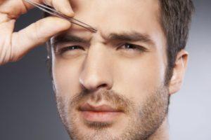 Мужская коррекция бровей: особенности процедуры