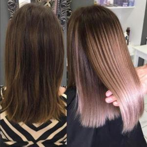 Тонирование волос 2020