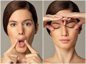 Гимнастика для овала лица