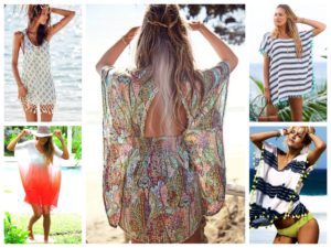 Как одеться на пляж женщине