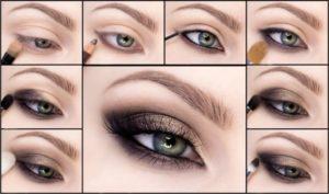 Как выразительно накрасить глаза самой: пошаговые инструкции