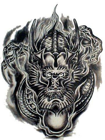 дракон тату екб