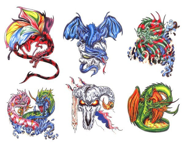 дракон татуировка екатеринбург