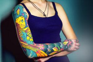 Сделать татуировку в Екатеринбурге