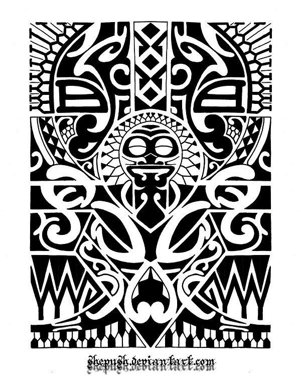 полинезия и маори ТАТУИРОВКА