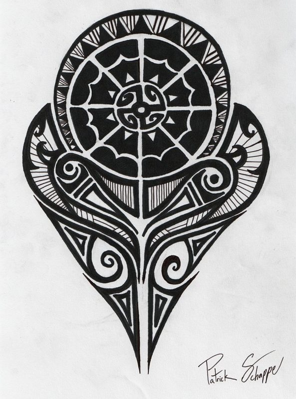полинезия и маори ТАТУ